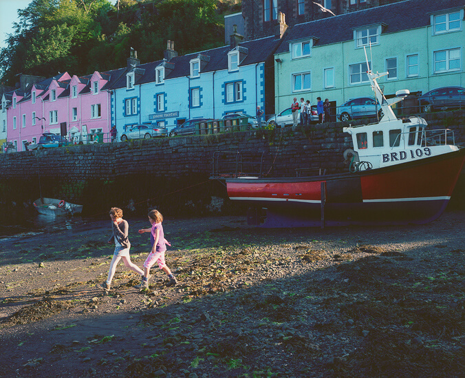 Evie & Lilah, Portree, Scotland