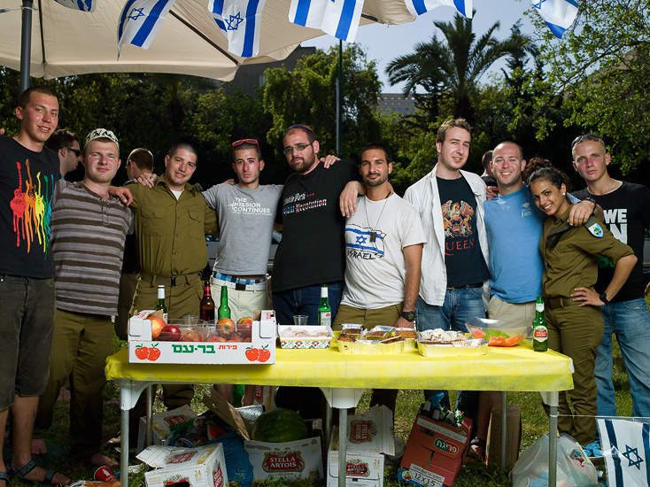Party for Lone Soldiers, 2012