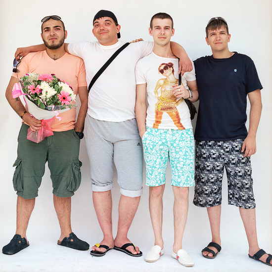 New Immigrants from Russia, Tiberias 2012