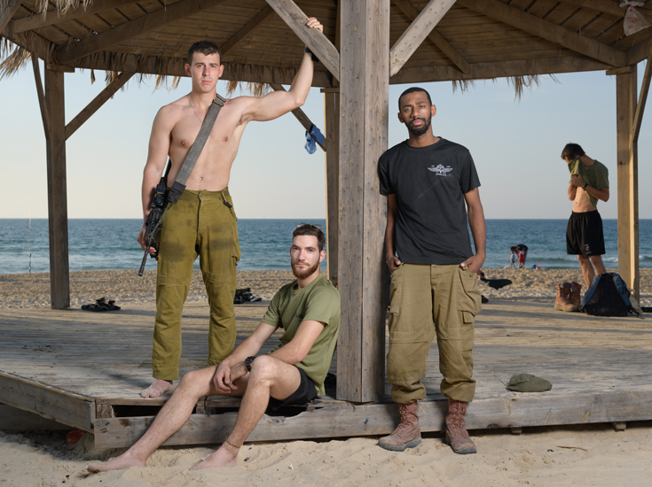 Jonah, Shlomi & Belai, Zikim Beach November 2018