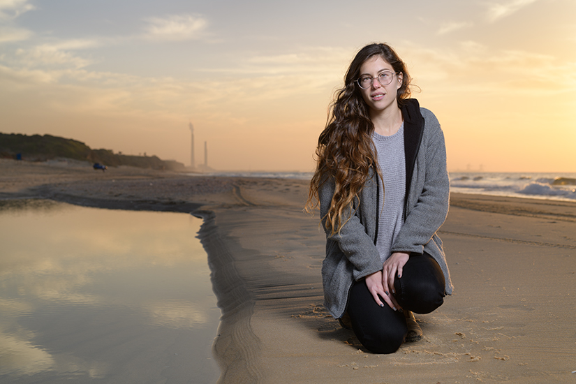 Maayan Pitussi, Ashkelon Beach January 2019