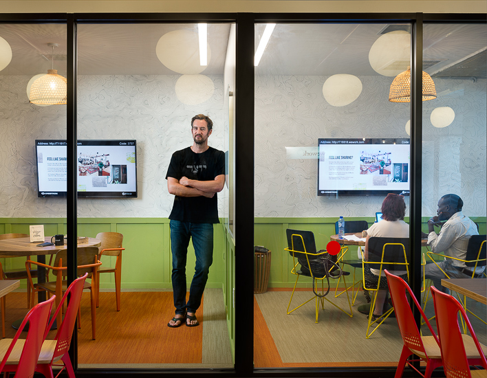 Miguel McKelvey, co-founder of WeWork