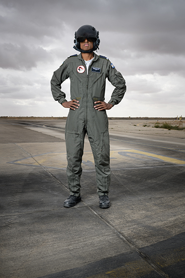 First navigator of Ethiopian descent to fly in Israel's Air Force, 2018