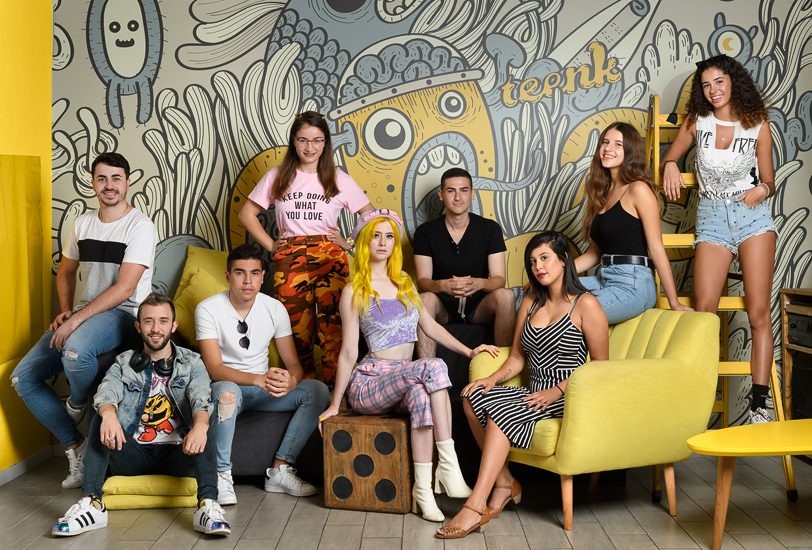 Israel's most succesful young youtubers, 2018