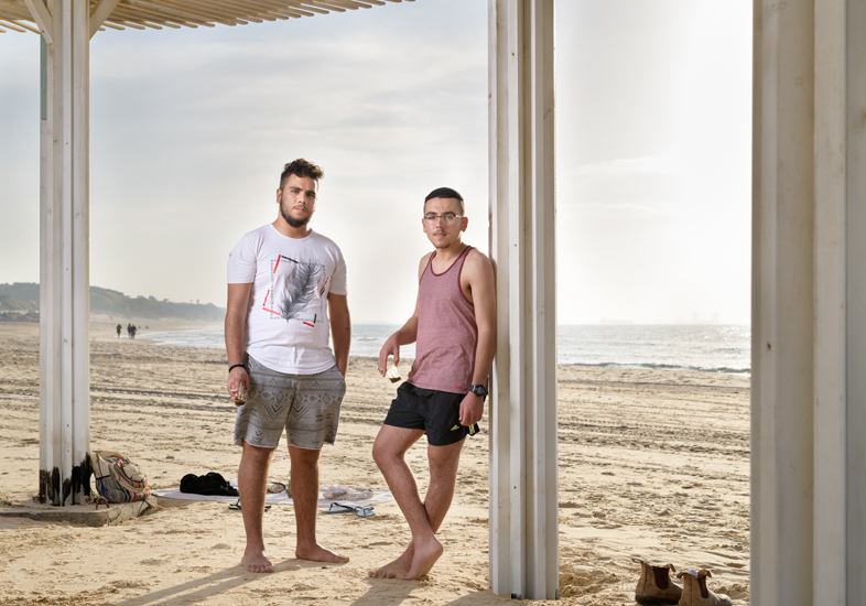 Guy & Omer, Ashkelon Beach, January 2019