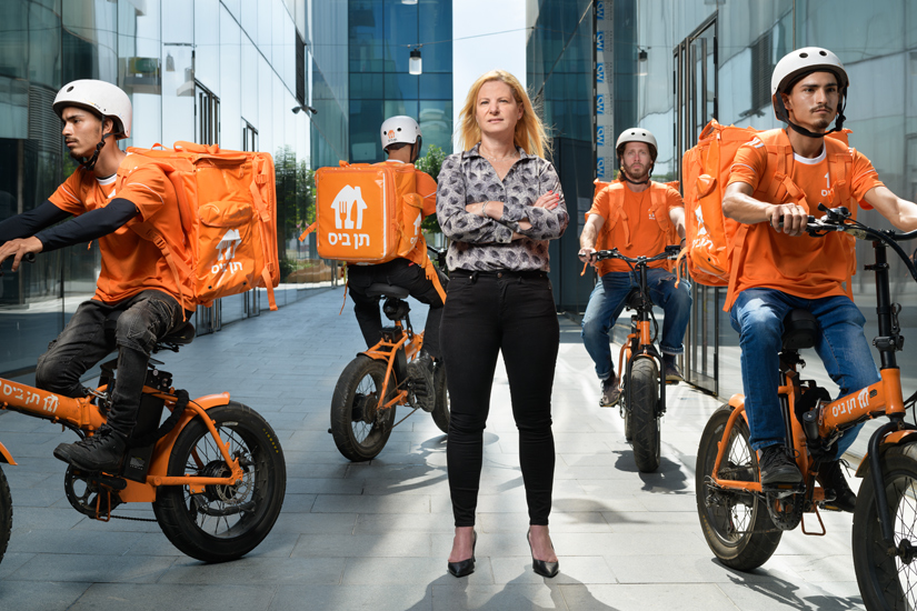 """Nurit Shaked, country manager of """"10bis"""" food delivery app"""